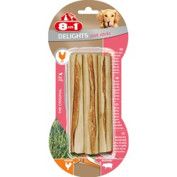 8in1 Delights Pork Sticks 3szt.