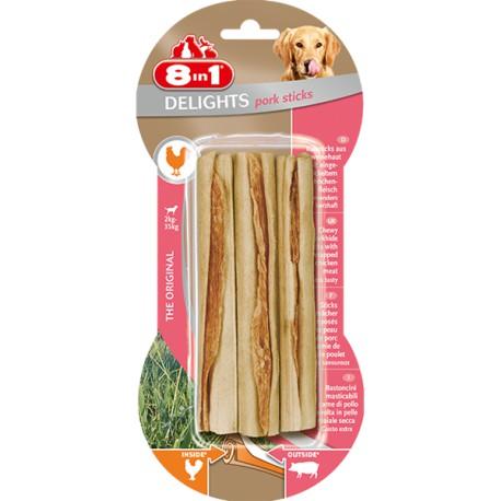 8in1 Delights Pork Sticks 3szt.