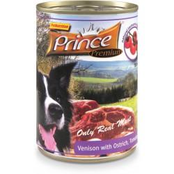 Prince Premium Jeleń Struś Pomidory Marchew 400g