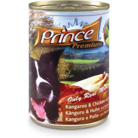 Prince Premium Kangur Kurczak Gruszka Szparagi 400g