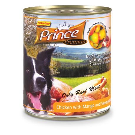 Prince Premium Kurczak/Mango/Słodkie ziemniaki 800g