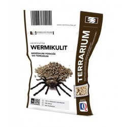WERMIKULIT Mineralne podłoże do terrarium 4l