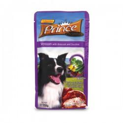 Prince Premium Sasz. Jeleń Brokuły Cukinia 150g
