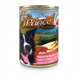 Prince Premium Łosoś Kurczak 400g