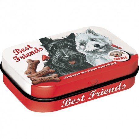Retro Art Mint Box Best Friends
