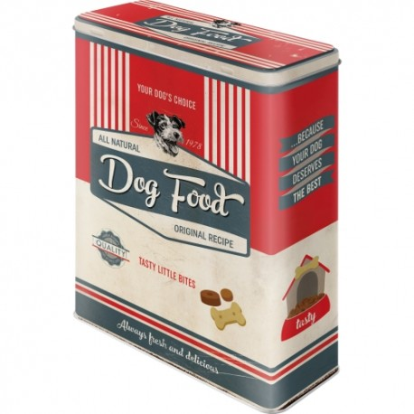 Retro Art Puszka XL PfotenSchild - Dog Food