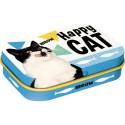 RETRO Pudełko na przysmak Happy Cat