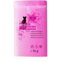 Catz finefood No.19 jagnię & bizon 85g