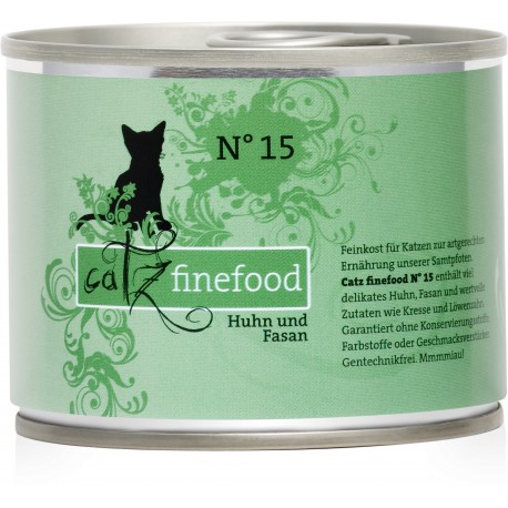 Catz finefood No.15 kurczak & bażant 200g