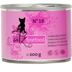 Catz finefood No.19 jagnięcina & konina 200g