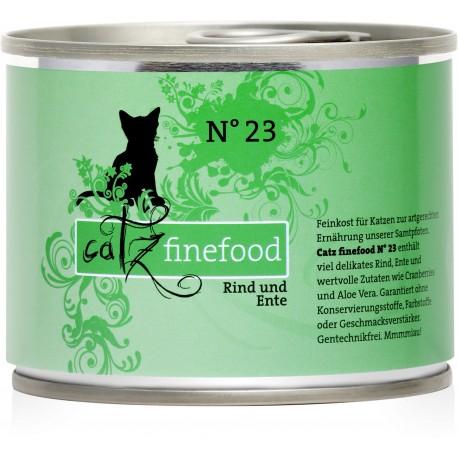 Catz finefood No.23 wołowina & kaczka 200g