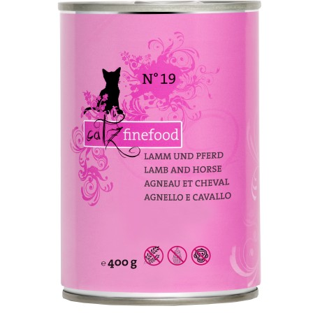 Catz finefood No.19 jagnię & bizon 400g
