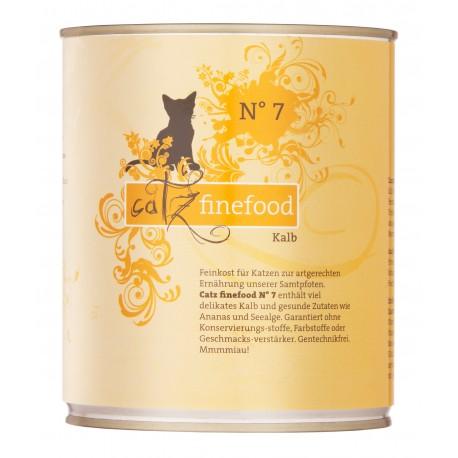 Catz finefood No.7 jeleń 800g
