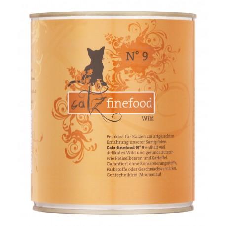 Catz finefood No.9 dziczyzna 800g