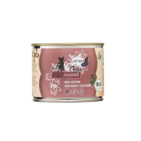 Catz finefood Bio No. 503 kurczak 200g