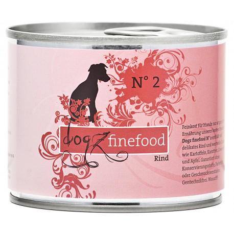 Dogz finefood No.2 wołowina 200g