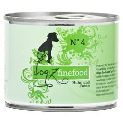 Dogz finefood No.4 kurczak & bażant 200g