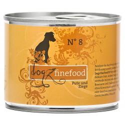 Dogz finefood No.8 indyk & koza 200g