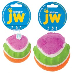 JW Mixups Ribbed Ball M 7,5 cm