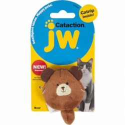 JW Plush Catnip Bear