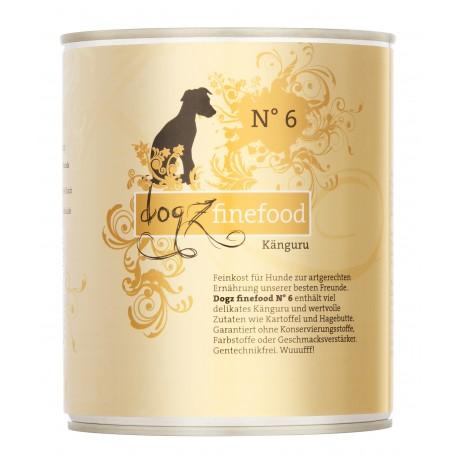 Dogz finefood No.6 kangur 800g