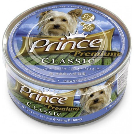 Prince Premium Kurczak, Tuńczyk, Żeńszeń Miód 170g