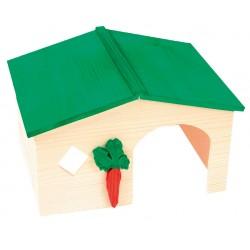 ZOLUX Domek drewniany dla chomika