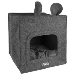 Let's sleep Pet Cave Chunk Antraciet