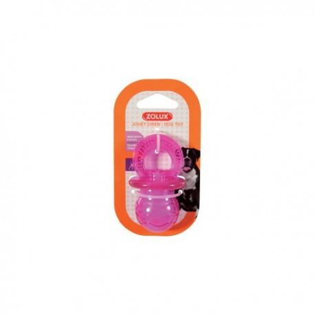 ZOLUX Zabawka TPR POP smoczek 7.5 cm kol. różowy