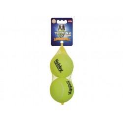 NOBBY tennis ball z dżwiękiem L 8,5cm/2szt