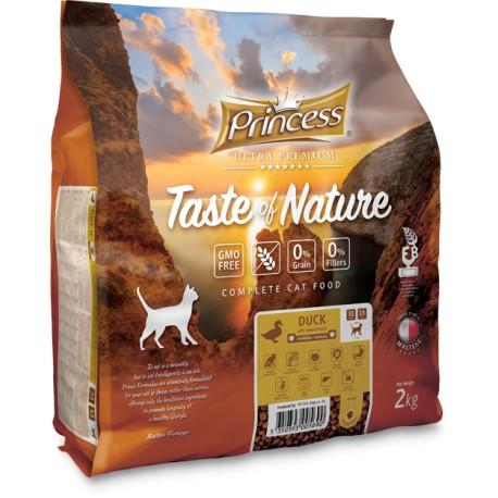 Princess Ultra Premium Taste of Nature Kaczka 2kg 70% Mięsa