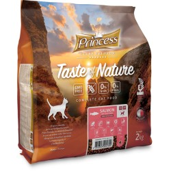 Princess Ultra Premium Taste of Nature Łosoś 2kg 70% Mięsa