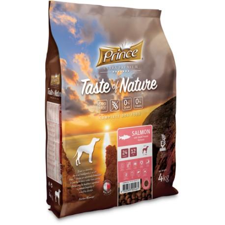 Taste of Nature karma dla psa z Łososia 4kg 70% Mięsa