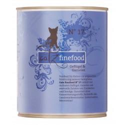Catz finefood No.17 drób & krewetki 800g