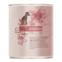 Dogz finefood No.2 wołowina 800g