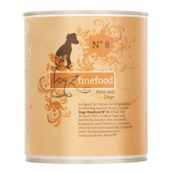 Dogz finefood No.8 indyk & koza 800g