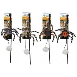 GH AFP Wędka dla kota Naturel Spider Web