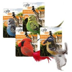 GH AFP Zabawka dla kota ptak z piórem 20cm