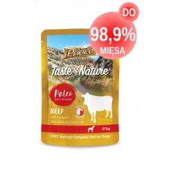 Prince Raw Paleo Saszetka Wołowina Dynia 375g DO 99% MIĘSA!!