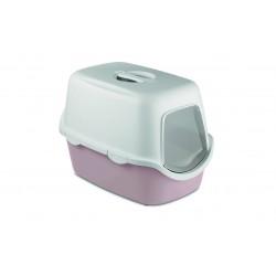 Stefanplast Toaleta CATHY z filtrem - pudrowy róż