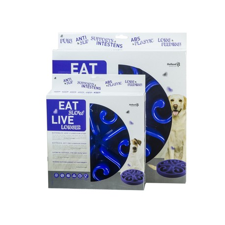 GH Miska Eat Slow Live Longer Original Blue S