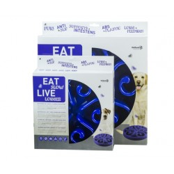 GH Miska Eat Slow Live Longer Original Blue L