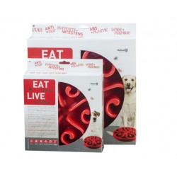 GH Miska Eat Slow Live Longer Original Red S