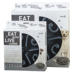 GH Miska Eat Slow Live Longer Original Grey S