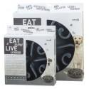 Miska dla psa spowalniająca jedzenie Eat Slow Live Longer Original Grey S