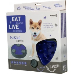 GH Eat Slow Live Longer Puzzle and Feed Blue