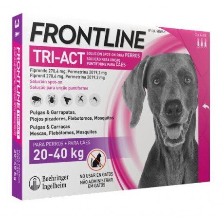 FRONTLINE Tri-Act L 3 pipety
