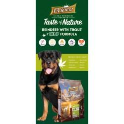 Taste of Nature karma dla psa z reniferem 4kg bez zbóż z konopią