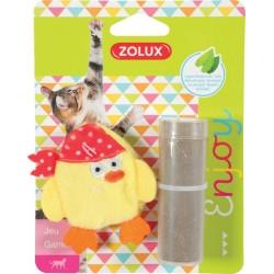 ZOLUX Zabawka dla kota PIRAT z kocimiętką żółty