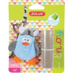ZOLUX Zabawka dla kota PIRAT z kocimiętką niebieski